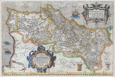 1579 Ortelius Map of Portugal ( Porvgalliae ) - Geographicus - Portugalliae-ortelius-1587.jpg