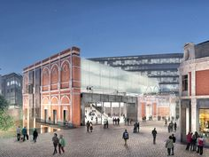 CONCEPTS FOR NEW MUSEUM AT WEST SMITHFIELD // Stanton Williams (UK) with Asif Khan (UK)