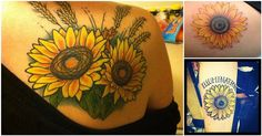 15 Sunflower Tattoos That Will Brighten Your Day