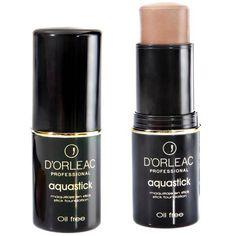 MAQUILLAJE D'ORLEAC AQUASTICK 621. Es un maquillaje en barra de base acuosa que proporciona un efecto muy refrescante en la aplicación y permite... Lipstick, Beauty, Make Up, Barbell, Lipsticks, Beauty Illustration