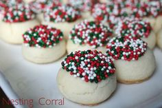 The Nesting Corral: Christmas Cookies: Velvet Cookies