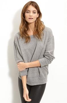 Current/Elliott Heathered Slouchy Sweatshirt | Nordstrom - StyleSays
