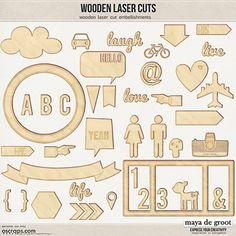 Puzzels, uitsteekvormen, stempels. Met een lasersnijder kun je veel kanten op.