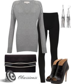 """""""Henley Jumper"""" by obsessionss ❤ liked on Polyvore"""