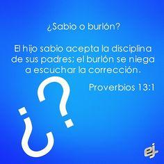 Proverbios 13:1