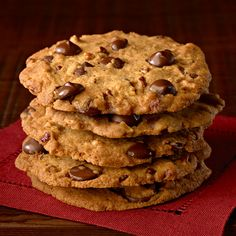 Ghirardelli Baking: Crispy Crunchy Chocolate Chip Cookies Recipe Impressive Results Worth Sharing. Bake with Ghirardelli.