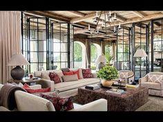 Decoração da casa sustentável da modelo Gisele Bundchen