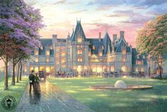 Elegant Evening at the Biltmore by Thomas Kinkade