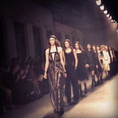 Leading the pack #pfw Photo by Maiyet