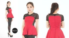 BIZAEL RED - muaya clothing - #fashion #womensfashion #womenswear