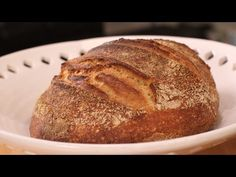 Learn how to bake sourdough in this bread making video from Howcast. Rye Flour, Sourdough Bread, How To Make Bread, Bread Baking, Sour Cream, Bread Recipes, Baked Goods, Favorite Recipes, Cake