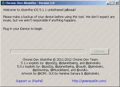 Absinthe 2.0.2 per il jailbreak di iPhone 4 con iOS 5.1.1 (9B208)