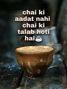 Garam chai lines on #chai #chailovers #baarishaurchai #chaipecharcha #chaikidukaan #chaiauryaar #chaidosti Shayari Image, Shayari In Hindi, Hindi Quotes, Tea Quotes, Chai, Tableware, Dinnerware, Quotes About Tea, Tablewares