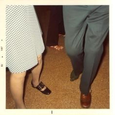 1950s dancing feet