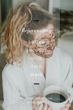 Coffee Coconut Milk Face Mask Scrub