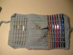 Crochet Case 3 definitely need to make one for myself!
