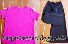 FREE pattern and tutorial: The Mod Dress - two Challenges & a wedding! - Serger Pepper