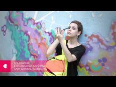 street art no olhar: tutorial de maquiagem com sombra cinzerê, sombra pretíssima e batom uvita. #sombra #prata #preta #batom #roxo #uva