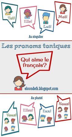 El Conde. fr: Les pronoms toniques