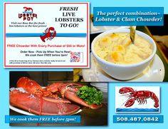 Our Raw Bar is the Real Deal! We even have the chowder and it's free.