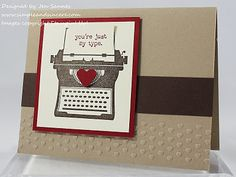 Stampin' Up! SU by Jen Sannes, Simple and Sincere