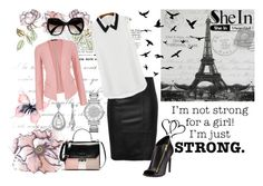 """""""strong girl"""" by tanja133 ❤ liked on Polyvore featuring Tom Ford, Michael Kors, Universal Lighting and Decor, maurices, Miadora and Prada"""