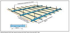 1000 images about structure metallique on pinterest for Pose ba13 sur rail plafond