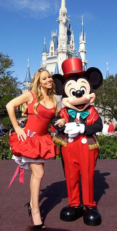 Mariah Carey in the Magic Kingdom