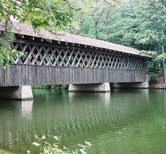 Covered Bridge ~ Stone Mountain Park ~ Stone Mountain, Georgia ~    Photography: Jerry Jaynes