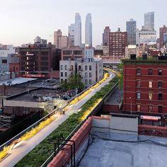 2011 New Yorks Grune Hochbahn
