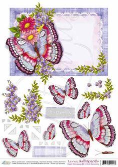 Litoarte 3d Paper Art, 3d Paper Crafts, Christmas Sheets, Image 3d, Gossamer Wings, 3d Sheets, 3d Cards, Decoupage Paper, Paper Piecing
