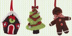 Haak je eigen kerstdecoratie met HEMA.