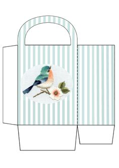 Bluebird of happiness bag. Uploaded by JB