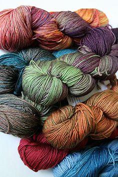 Malabrigo Sock yarn will knock your socks off. Kettle dyed 100% Merino Wool Sock Yarn - a must have for a sock knitter. Malabrigo Sock is beautiful - super soft, tons of yardage - malabrigo has defini