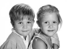 Birthday portrait: The Danish royal family has released new photos of Prince Vincent and Princess Josephine to celebrate their sixth birthday 8 Jan 2017