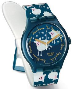 FOR SALE! 2003 Brand New Swatch Watch Black Sheep Too SUDN101Too Orologio reloj Armbanduhr #Swatch