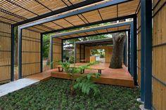 The Duplantier Volunteer Pavilion, La Nouvelle-Orléans, 2014 - Michael McKay Pavilion Architecture, Landscape Architecture, Landscape Design, Architecture Design, Garden Design, House Design, Chinese Architecture, Architecture Office, Futuristic Architecture