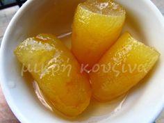 μικρή κουζίνα: Γλυκό κουταλιού περγαμόντο