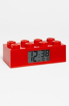 LEGO® Brick Alarm Clock available at #Nordstrom