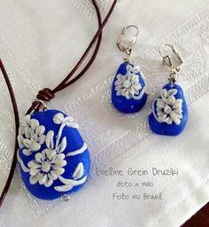 Bijuterias feito a mão  Cerâmica plastica