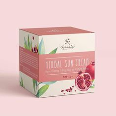 Packaging concepts for a sun cream product which has pomegranate extracted ingredient. Packaging concepts for a sun cream product which has pomegranate extracted ingredient.