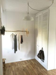 Minimal Interiors #art #interiors #white #handmade #closet #light