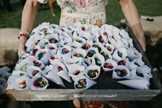 giant colourful confetti in paper cones Paper Cones, Body Jewellery, Festival Wedding, Three Days, Confetti, Bliss, Wedding Inspiration, Color, Wedding