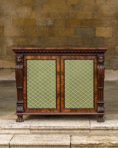 A George IV mahogany side cabinet - Decorative Collective