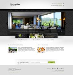 If you need a hotel oriented WordPress template, you have to try this one, specially if you want your website to stand out.