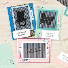 Create an interactive magical greeting card to say hello! #handmadecards #crafting