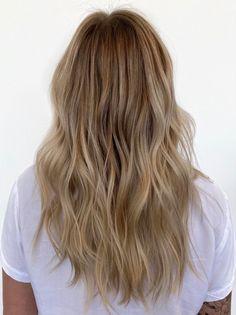 Blonde Bayalage Hair, Blone Hair, Balyage Long Hair, Blonde Foils, Hair Foils, Honey Blonde Hair, Natural Balyage, Natural Blonde Balayage, Balayage Lob