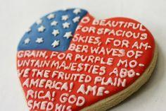 #patriotic #cookies