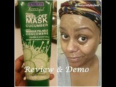 Check out my latest review on the Freemans Cucumber Peel-off Mask