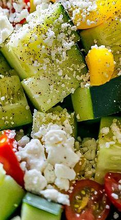 Garden Vegetable Greek Salad